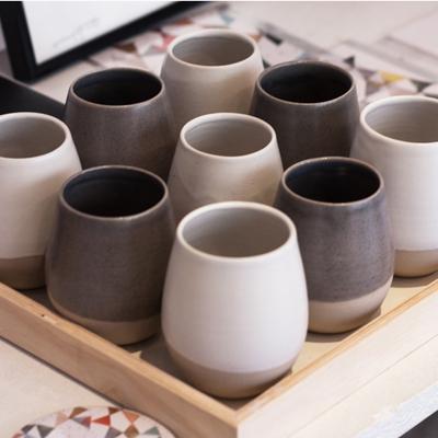 coffee shots par Geraldine K ceramiste
