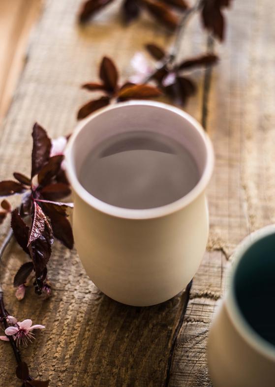 tea cup par Geraldine K ceramiste