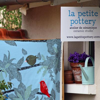atelier ceramique sur jardin